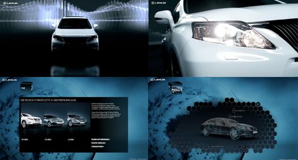 Lexus Hybrid Microsite