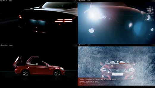 Lexus IS 250 Microsite