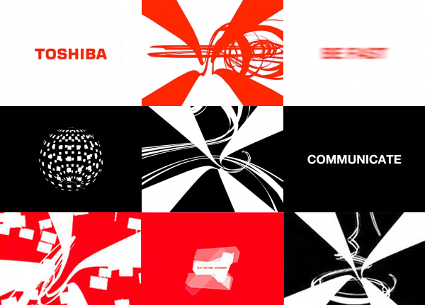 Toshiba Screensaver