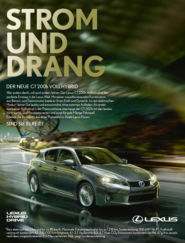 Lexus Brand Campaign