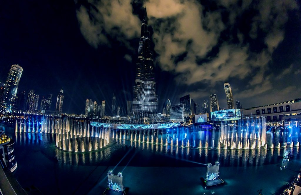 Burj Khalifa New Year´s Eve Show 2013