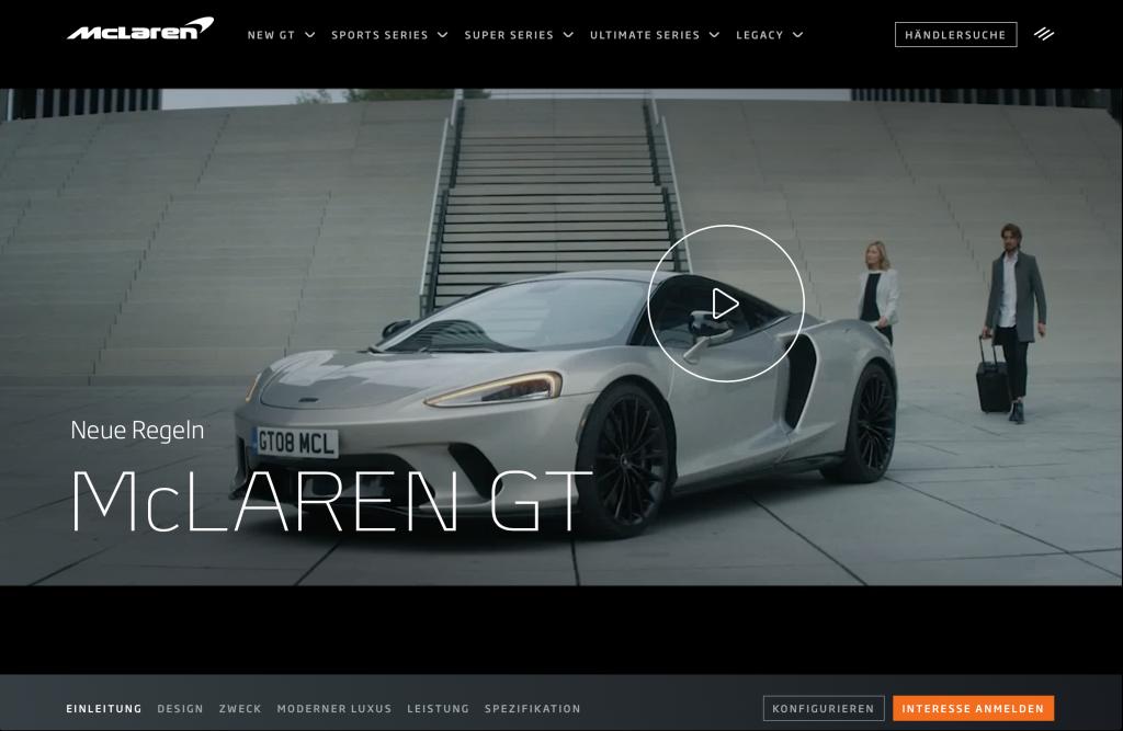 McLaren GT Campaign
